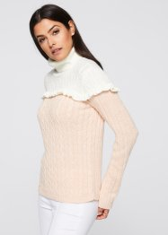 Pullover con ruches, BODYFLIRT boutique