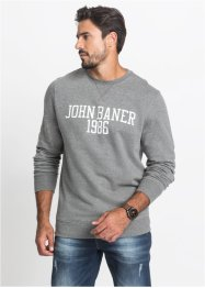 Felpa regular fit, John Baner JEANSWEAR