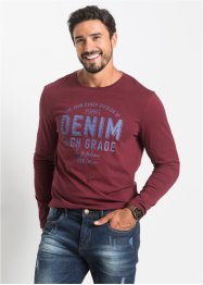 Maglia stampata regular fit, John Baner JEANSWEAR