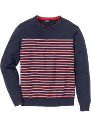 Pullover a righe regular fit, bpc bonprix collection