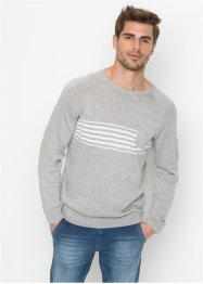Pullover con taschino regular fit, John Baner JEANSWEAR