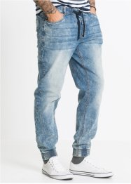 Jeans con elastico slim fit straight, RAINBOW