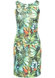 Abito in fantasia tropicale, BODYFLIRT boutique