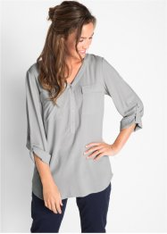Blusa in viscosa a manica lunga, bpc bonprix collection