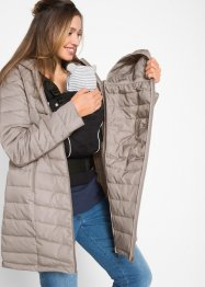Cappotto trapuntato con porta-bimbo, bpc bonprix collection