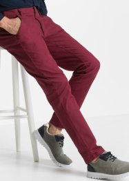 Pantalone chino elasticizzato slim fit straight, bpc bonprix collection