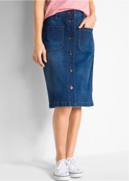Gonna di jeans elasticizzata, bpc bonprix collection