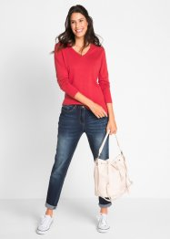 Maglione con scollo a V, bpc bonprix collection