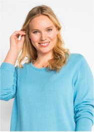 Pullover con spacchi, bpc bonprix collection