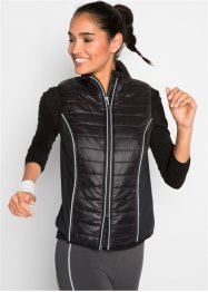 Gilet funzionale da corsa, bpc bonprix collection