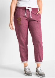 Pantalone in felpa 7/8, bpc bonprix collection