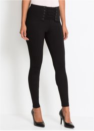 Treggings con stringatura, BODYFLIRT