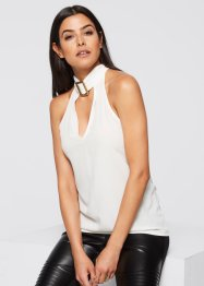 Blusa con fibbia al collo, BODYFLIRT boutique
