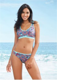 Bikini con bustier, bpc bonprix collection