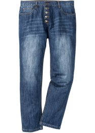 Jeans con abbottonatura regular fit straight, John Baner JEANSWEAR