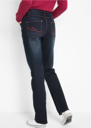Jeans elasticizzati con cinta comoda straight, bpc bonprix collection