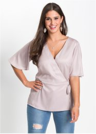 Blusa in satin, BODYFLIRT