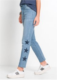 Jeans relaxed con stelle, RAINBOW