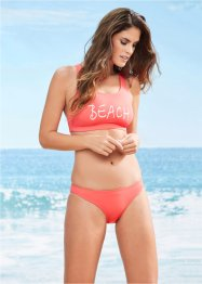 Bikini con bustier minimizer, bpc bonprix collection