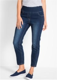 Jeans elasticizzato 7/8 a vita alta, bpc bonprix collection