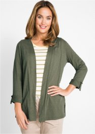 Cardigan in filato fiammato, bpc bonprix collection