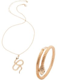 "Parure ""Serpente"" (set 2 pezzi), bpc bonprix collection"