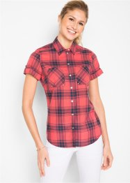 Camicia a quadri a manica corta, bpc bonprix collection