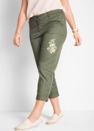 Pantalone con fiori ricamati, bpc bonprix collection