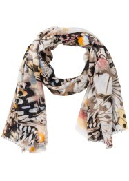 Foulard con farfalle, bpc bonprix collection