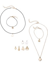 Set di gioielli (set 14 pezzi), bpc bonprix collection