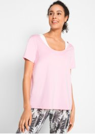T-shirt con bustier per lo sport (set 2 pezzi) Maite Kelly, bpc bonprix collection