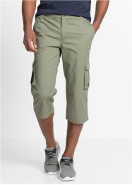 Pantalone elasticizzato cargo 3/4 regular fit, bpc bonprix collection