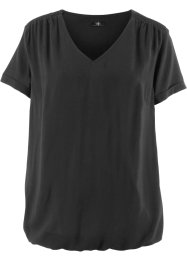 Blusa in viscosa a mezze maniche, bpc bonprix collection