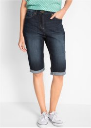 Bermuda di jeans elasticizzato, bpc bonprix collection