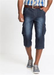 Jeans cargo 3/4 regular fit, John Baner JEANSWEAR