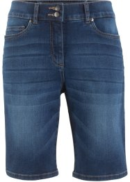 Bermuda push-up in jeans dritti, bpc bonprix collection