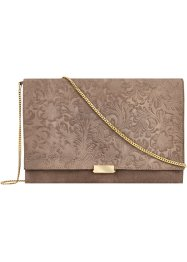 Pochette con stampa in rilievo, bpc bonprix collection