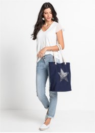 Borsa shopper con stella, bpc bonprix collection