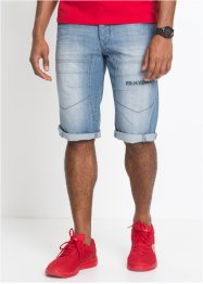 Bermuda lungo in jeans regular fit, RAINBOW