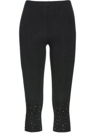 Leggings capri con strass, bpc selection