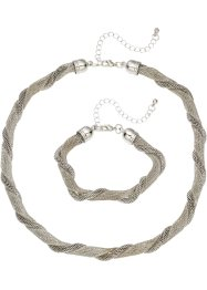 Parure collier + bracciale (set 2 pezzi), bpc bonprix collection