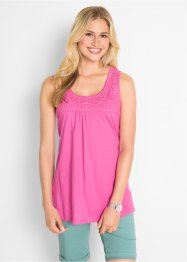Top con pizzo, bpc bonprix collection