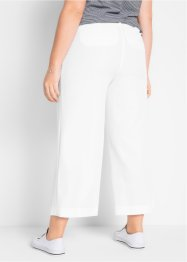 Pantaloni elasticizzati cropped loose fit, bpc bonprix collection
