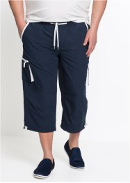 Pantalone con elastico 3/4 in microfibra, bpc bonprix collection