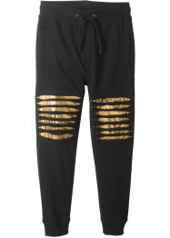 Pantalone in felpa con tagli, bpc bonprix collection