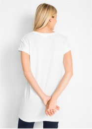 T-shirt lunga boxy, bpc bonprix collection