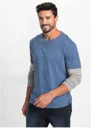 Maglia a manica lunga 2 in 1 regular fit, bpc bonprix collection