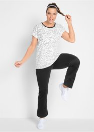 T-shirt + pantalone da yoga (set 2 pezzi), bpc bonprix collection