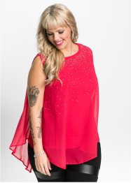 Top con strass, BODYFLIRT boutique
