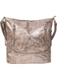Borsa shopper con cerniera, bpc bonprix collection